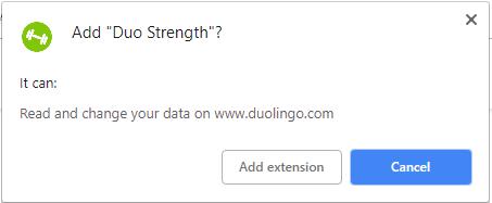 Duo Strength install screenshot